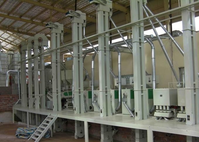 100T/D Complete Rice Mill Plant In Indonesia